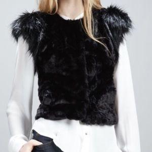 Newman Marcus Target Skast Taylor Faux Fur Vest